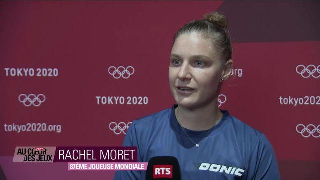 Tennis de table: fin du beau parcours de Rachel Moret [RTS]