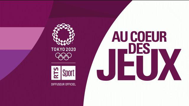 Au Cœur des Jeux - L'émission du lundi 26.07.2021 [RTS]