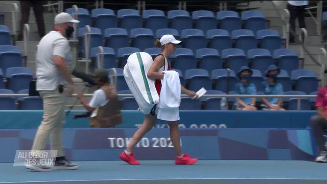 Tennis: pas d'exploit pour Golubic contre Osaka [RTS]
