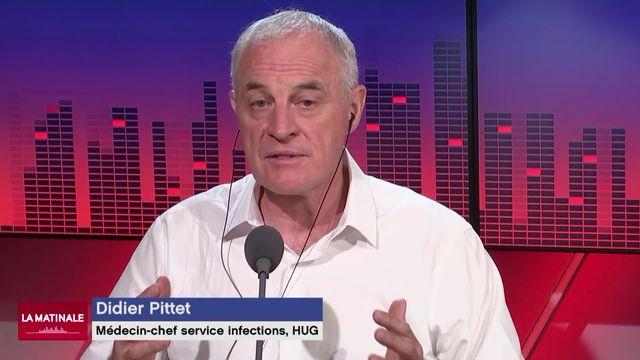 L'invité de La Matinale (vidéo) - Didier Pittet, chef du service de prévention et contrôle de l'infection aux HUG [RTS]