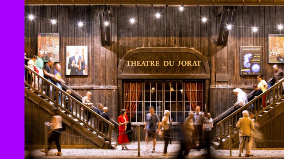 Concours Escenic TheatreDuJorat