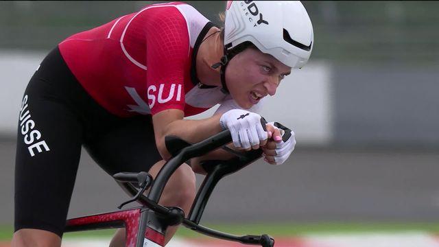 Cyclisme, contre-la-montre dames: l'or pour Van Vleuten (NED) et l'argent pour Reusser (SUI) !! [RTS]