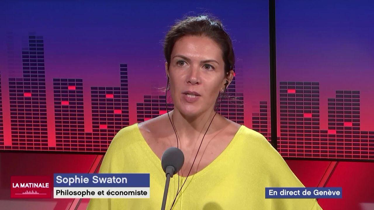 L'invitée de La Matinale (vidéo) - Sophie Swaton, philosophe et économiste à l'Université de Lausanne [RTS]