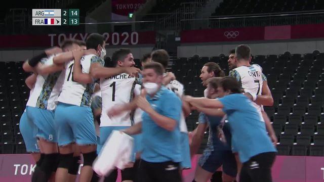 Volleyball, tour préliminaire messieurs, Argentine - France (3-2): victoire en 5 sets pour les Argentins [RTS]