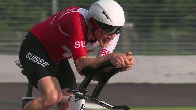 Cyclisme, contre-la-montre messieurs: Küng termine au pied du podium pour seulement 4 dixièmes ! [RTS]