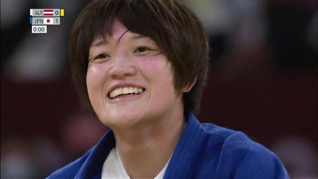 Judo, finale dames (-70kg): médaille d'or pour la Japonaise Arai [RTS]