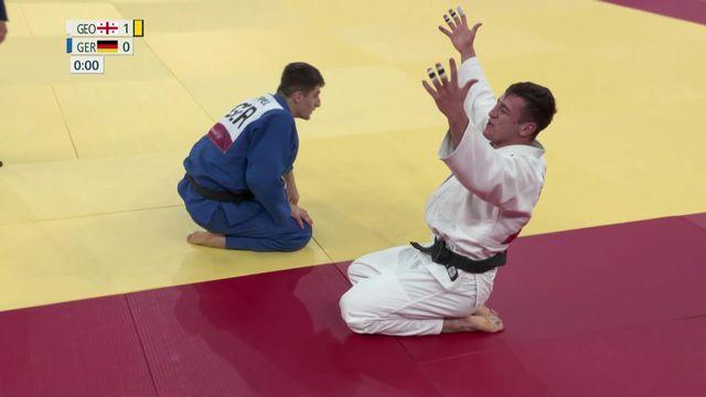 Judo, finale messieurs (-90kg): Bekauri (GEO) est champion olympique ! [RTS]