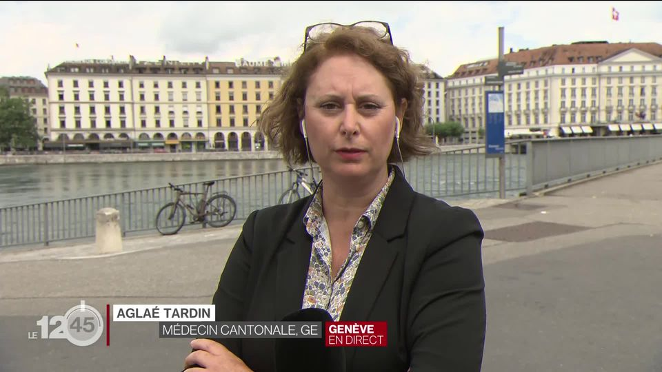 Penjelasan Aglaé Tardin, dokter kewilayahan di Jenewa [RTS]