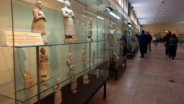 Les Etats-Unis vont rendre à l'Irak quelque 17'000 pièces archéologiques datant de près de 4000 ans et pillées au cours des dernières décennies. [Ahmed Jalil - Keystone]