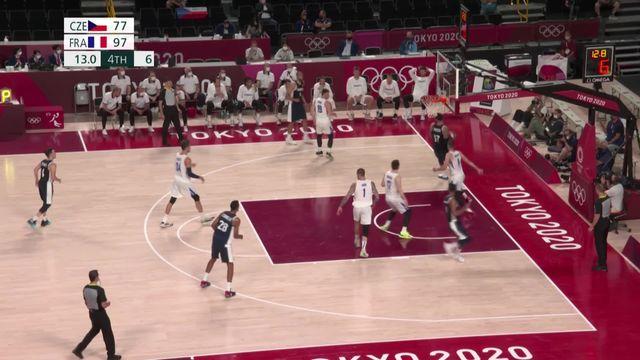 Basketball, tour préliminaire, République tchèque - France (77-97): la France prend la première place du groupe A [RTS]