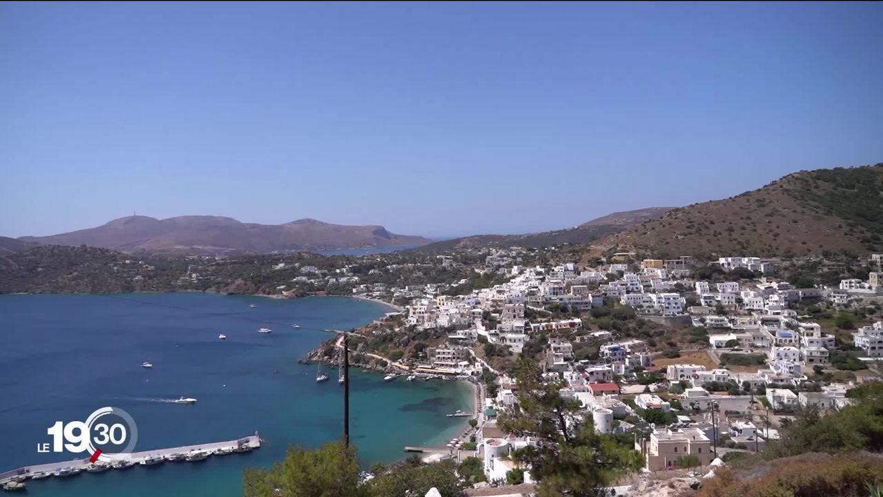 En Grèce, la construction de nouveaux centres d'accueil pour les réfugiés fait polémique. [RTS]