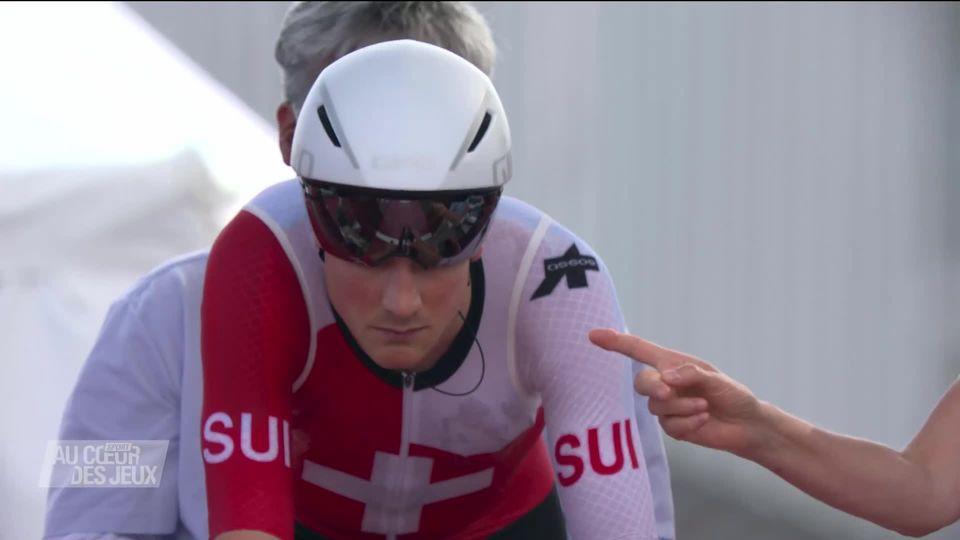 Cyclisme, contre-la-montre messieurs: Stefan Küng (SUI) à seulement 40 centièmes de la médaille de bronze [RTS]