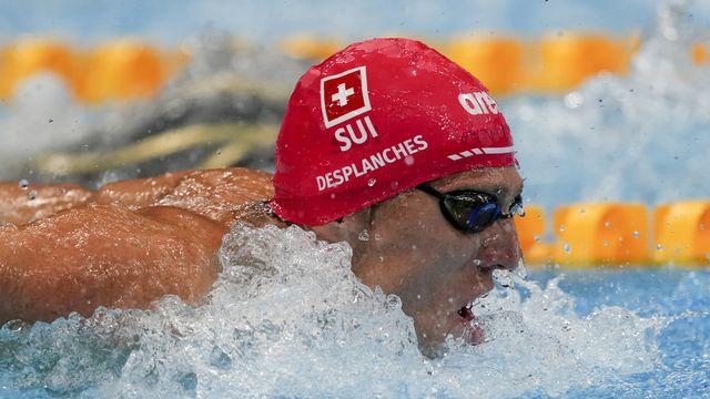 Jérémy Desplanches peut encore croire en son rêve de médaille olympique. [Martin Meissner - Keystone]