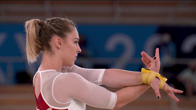 Gymnastique, concours général dames: Giulia Steingruber termine au 15e rang de la finale [RTS]