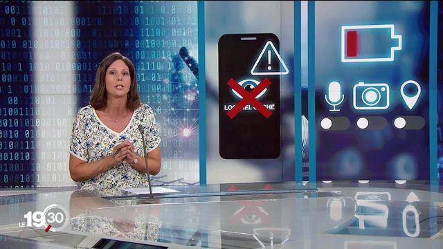 Fanny Moille: Si votre batterie se décharge plus rapidement que d'habitude, c'est peut-être à cause d'un logiciel espion [RTS]