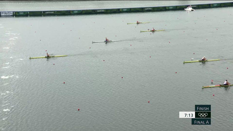 Aviron, finale skiff dames: pas de podium pour Gmelin (SUI), Twigg (NZL) en or [RTS]