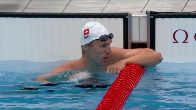 Natation, finale 200m 4 nages messieurs: le Genevois Jeremy Desplanches décroche une médaille de bronze ! [RTS]