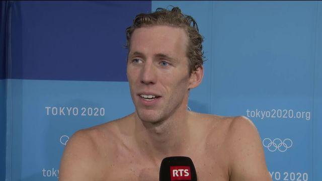 La réaction du nouveau médaillé olympique Jeremy Desplanches au micro de la RTS [RTS]