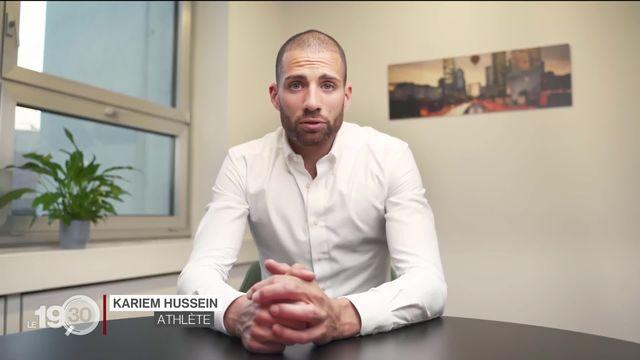 Tokyo 2020: L'athlète suisse Kariem Hussein a été suspendu par le comité olympique suisse pour dopage [RTS]