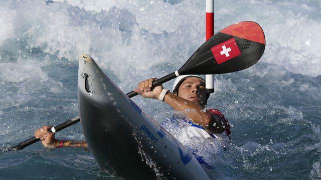 Sans une pénalité, Martin Dougoud aurait eu le bonheur de vivre une finale olympique. [Kirsty Wigglesworth - AP]