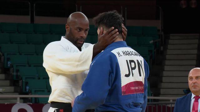 Judo, bronze messieurs (+100kg): Teddy Riner (FRA) remporte une 4e médaille olympique, une seconde en bronze! [RTS]