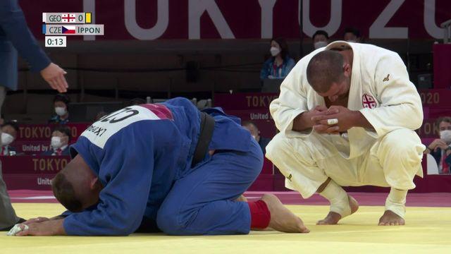 Judo, finale messieurs (+100kg): Lukas Krpalek (CZE) décroche l'or olympique [RTS]