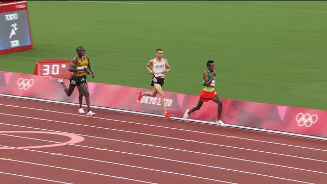 Athlétisme, 10'000m messieurs: Selemon Barega (ETH) en or! Wanders (SUI) loin du compte