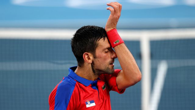 Tennis, 1-2 messieurs, Djokovic (SRB) - Zverev (GER) (6-1, 3-6, 1-6): pas de Golden Slam pour Djoko!