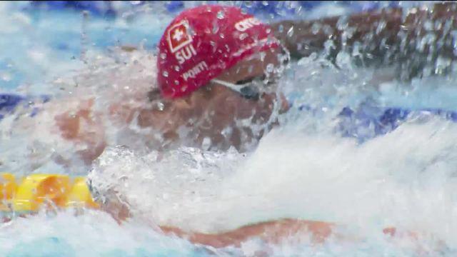30.07 Natation, 1-2 100m papillon messieurs: nouveau record de Suisse pour Noé Ponti en 50.76 [RTS]