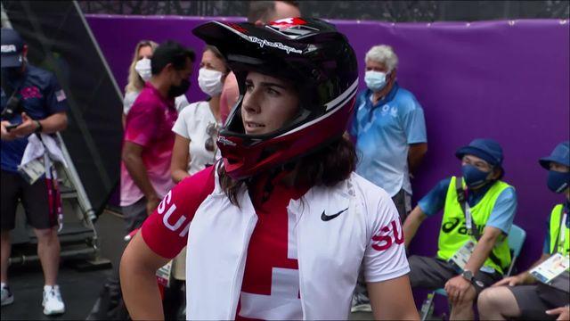 BMX freestyle, qualifications dames: belle journée pour Ducarroz (SUI) qui se battra pour les médailles demain [RTS]