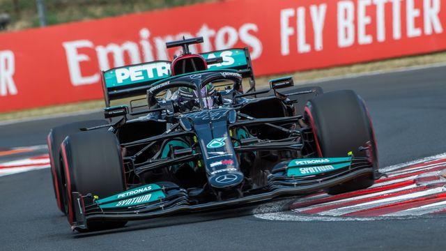 Hamilton vise une centième victoire en F1 ce dimanche en Hongrie. [Zoltan Balogh - Keystone]