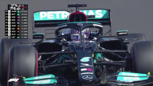 GP de Hongrie (#11), Q3: Hamilton (GBR) en pole devant Bottas (FIN) et Verstappen (NED) [RTS]