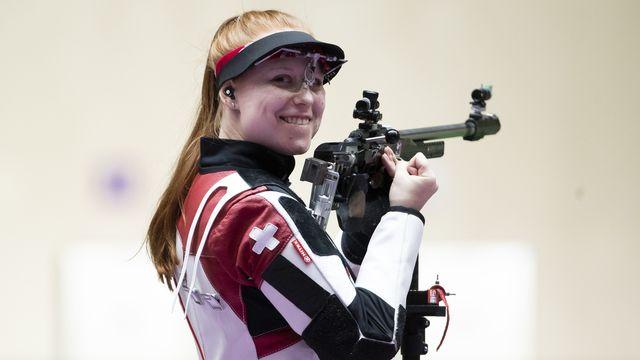 Tir, carabine 50m 3 positions dames: Nina Christen (SUI) décroche l'or olympique!!!