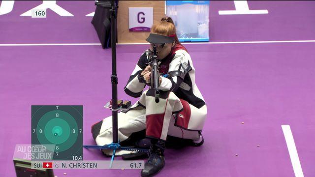 Tir sportif: Nina Christen sacrée à la carabine 50m 3 positions [RTS]