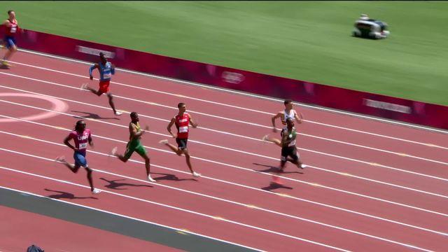Athlétisme, 400m messieurs: Ricky Petrucciani se qualifie pour les demies [RTS]