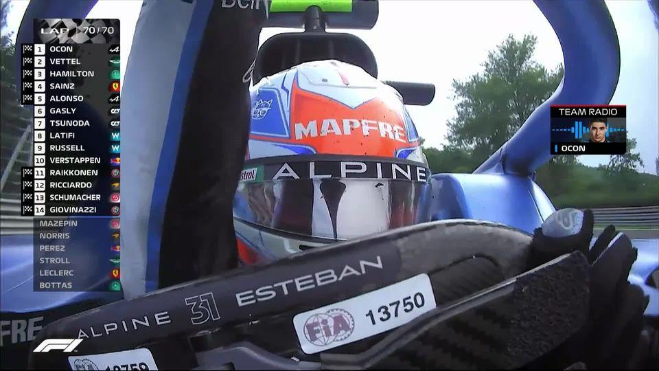 GP de Hongrie (#11): Esteban Ocon (FRA) improbable vainqueur d'un GP animé! Vettel (GER) second, Hamilton (GBR) troisième! [RTS]