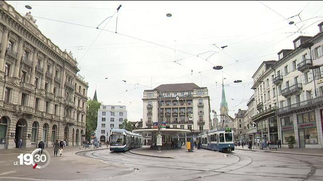 Lieux de pouvoir en Suisse: la Paradeplatz de Zurich [RTS]