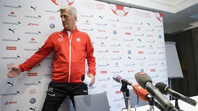 Vladimir Petkovic a quitté la sélection suisse pour rejoindre Bordeaux. [Laurent Gillieron - Keystone]