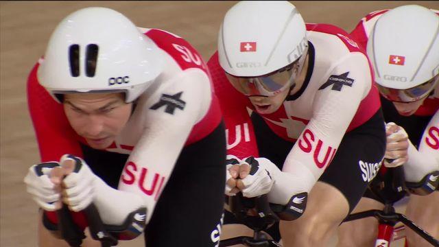 Cyclisme sur piste, qualifications: la course des Suisses [RTS]