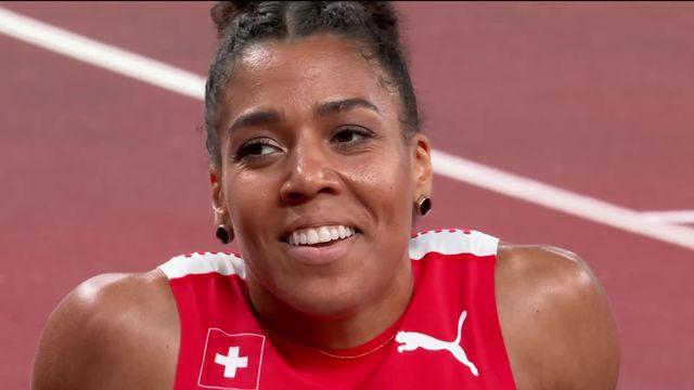 Athlétisme, 200m dames : Kambundji (SUI) se qualifie pour la finale ! [RTS]