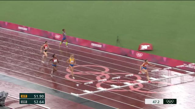 Athlétisme,400m haies dames: Sprunger (SUI) ne sera pas en finale [RTS]
