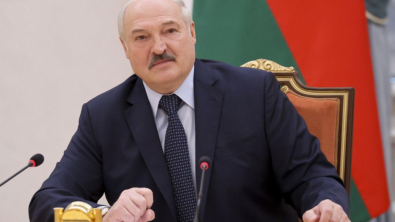 L'Union européenne a pris des nouvelles sanctions contre la Biélorussie d'Alexandre Loukachenko. [Sergei Sheleg - AP]