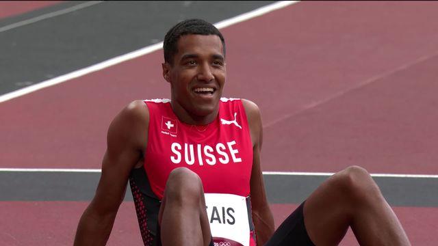 Athlétisme, 200m messieurs: Reais (SUI) se qualifie pour les demi-finales ! [RTS]