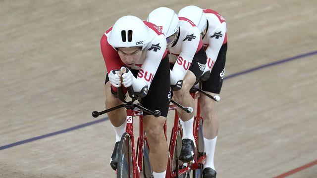 Le quatuor suisse a sauvé l'honneur. [AP Photo/Christophe Ena - Keystone]