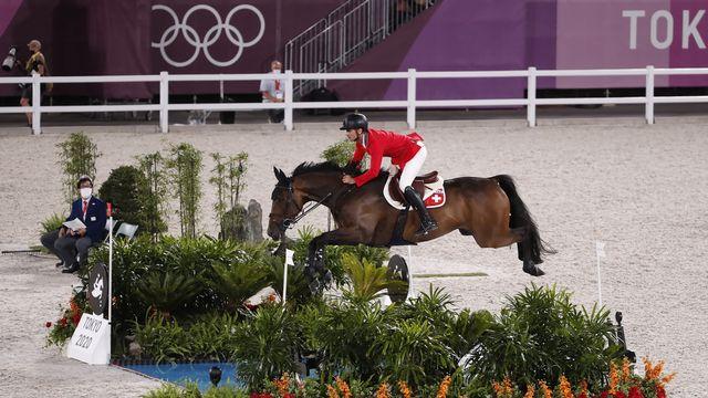Echec pour le champion olympique 2012. [Peter Klaunzer - Keystone]