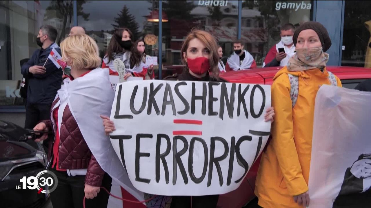 La Lituanie est devenue une terre d'accueil pour de nombreux opposants biélorusses [RTS]