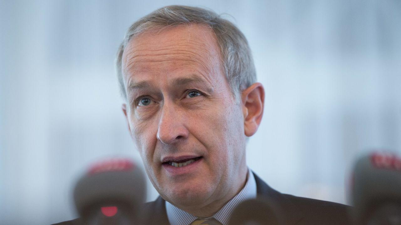 L'ancien secrétaire d'Etat Michael Ambühl. [Jean-Christophe Bott - KEYSTONE]