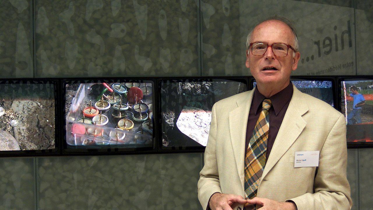 Le fondateur et ancien directeur du Laténium Michel Egloff est décédé le 29 juillet 2021 dans sa 81e année [Sandro Campardo - Keystone]