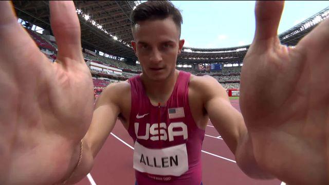Athlétisme, 1-2 finale 110 m haies messieurs: Jason Joseph (SUI) se classe 5e et ne se qualifie pour la finale [RTS]