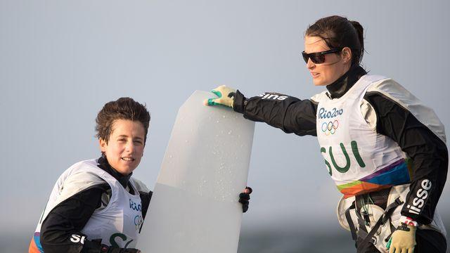 Linda Fahrni et Maja Siegenthaler n'ont pu se mêler à la lutte pour la médaille. [EXPA/Johann Groder - Keystone]